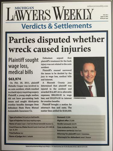 Parties disputed whether wreck caused injuries